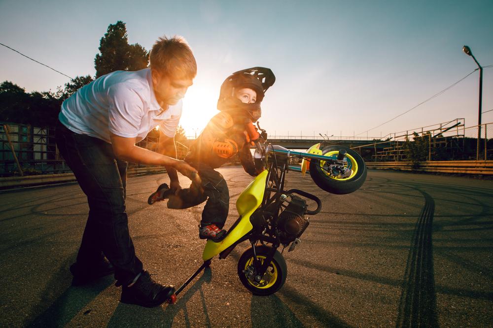 moto elettrica per bambini
